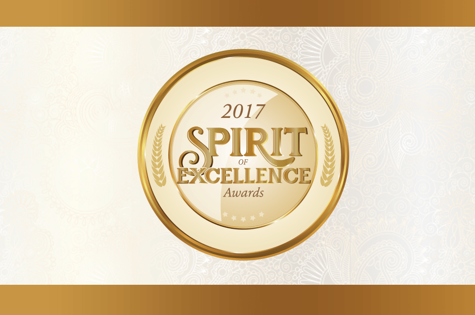 Congratulations to the 2017 Spirit of Excellence Award Winners!